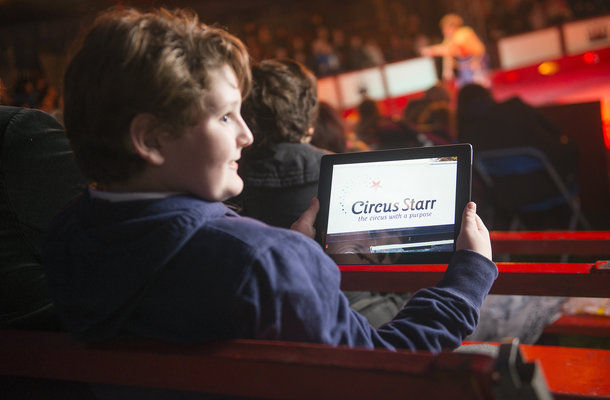 Circus Starr Show and Tell app
