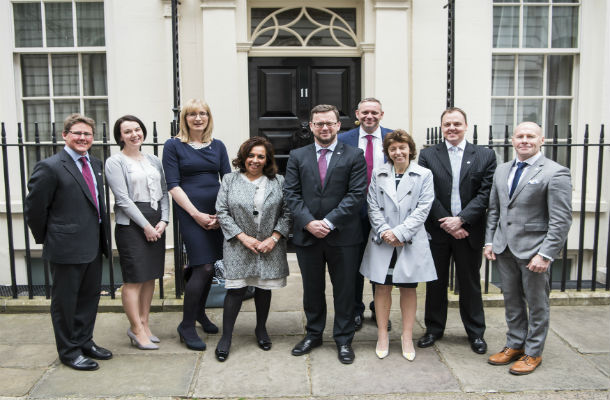 The Corporate Challenge launched on 18 April 2016 at a reception at Number 11 Downing Street with Minister for Civil Society, Rob Wilson.