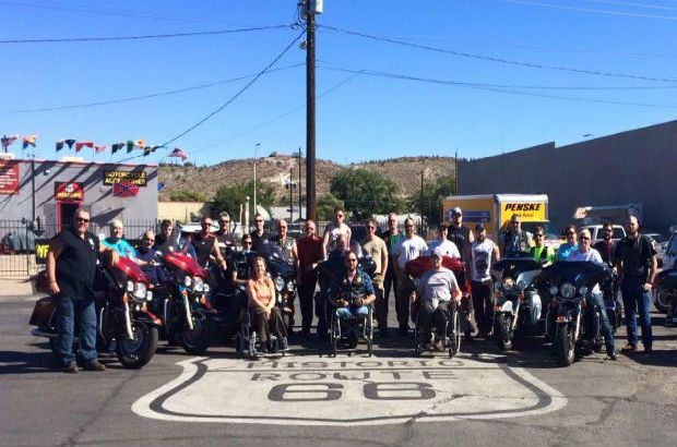 Bike Tours for the Wounded Route 66 Tour