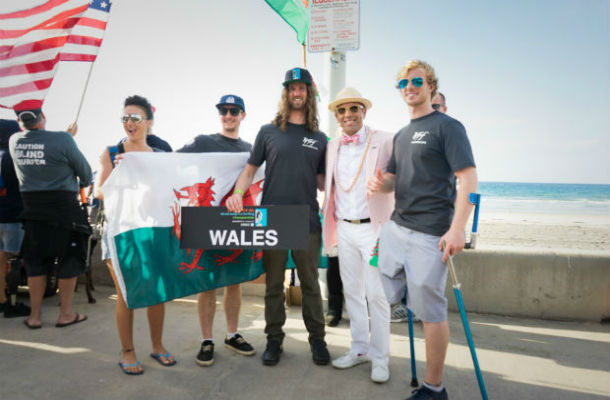 Team Wales ISA World Adaptive Surfing Championships