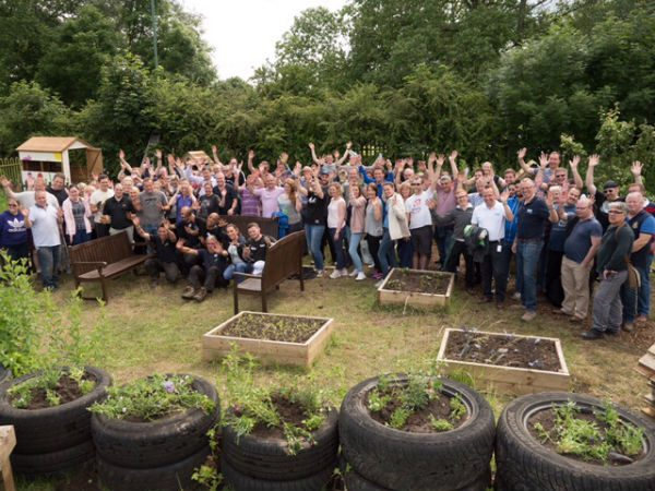 IMI corporate day transforming Kingshurst Community Gardens