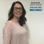 Stephanie Kirkwood, a Business Support Advisor on the Business Support Helpline