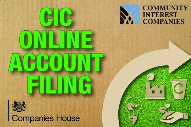 Introducing new online service for Community Interest Company company accounts