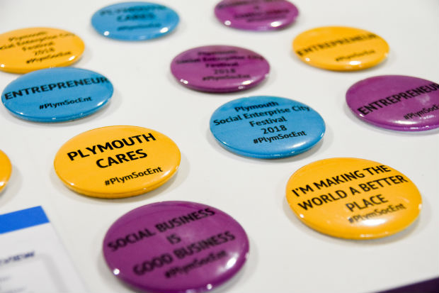 Plymouth Social Enterprise Badges