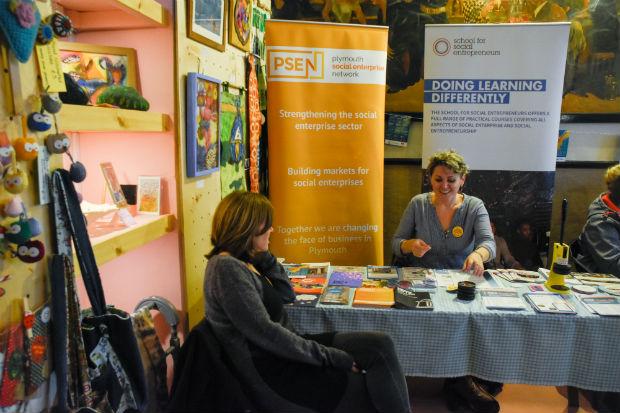 Plymouth Social Enterprise at festival