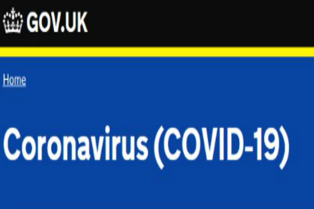 GOV.UK Coronavirus logo